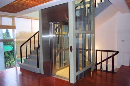 hydraulic home lift in India